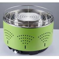 Quality Portable lotus round BBQ smokeless grill air control electronic fan quick heat barbecue charcoal grill wholesale