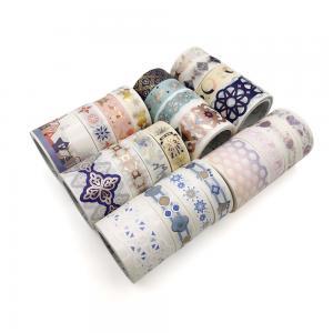 China Salt Forest Series Spots Color Scrapbook Cut-Off Rule Washi Tape Bullet Journaling Deco Masking Tapes on sale
