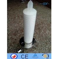 Cheap PP Filter Cartridge N6 PTFE With Deep Filtration / Large Filtration Area for sale