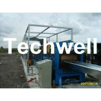 Quality Electric Cutting 17 Stations 17.7KW Large Span Roof Panel Roll Forming Machine 45# Steel wholesale