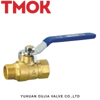 China Factory direct sales of brass three-way ball valve source on sale
