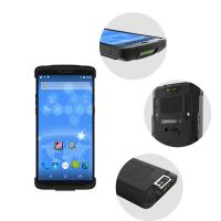 Buy cheap 6000mAh removable battery Handheld PDA Devices Barcode Scanner from wholesalers
