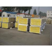Quality Mineral Wool Insulated Sandwich Panels For Steel Structure Panels wholesale