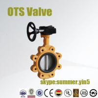 Quality lut type butterfly valve price with ISO/CE certificates wholesale