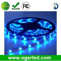 Quality weatherproof flexible LED light strip with 5050SMD RGB LEDs, 30/60leds per meter, 12VDC op wholesale