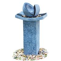 Quality Natural Split Cast Stone Water Fountains With  Fiberglass / Resin Material wholesale