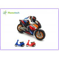 Quality Small Size Promotion Motorcycle Usb Flash Drive , Moto Car Soft Plastic Usb Drives / U Disk wholesale