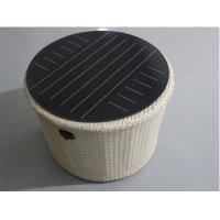 Quality Double Glass Round Solar Panel Light Kit 12v Support USB Mobile Charger IP65 wholesale