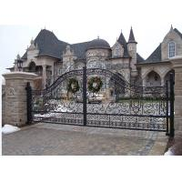 Quality Hot galvanized wrought iron Gate wholesale