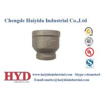 Buy cheap socket reducing black malleable iron pipe fitting cast iron UL factory product