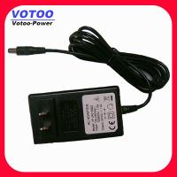 Quality Rack Mount CCTV Camera Power Adapter Supply 12V 2A 100 - 240VAC wholesale