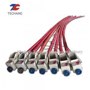 China Grain Suction Machine Flexible Screw Conveyor , Flexible Auger Conveyor on sale