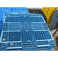 Quality Reinforced plastic pallet produced in China, 1100x1100x150mm reversible shape wholesale