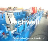 Quality CCr 15 High Grade Steel Rolling Shutter Forming Machine For 5-15m/min Forming Speed wholesale