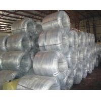 Quality SGS CE Galvanized Steel Wire Rope , Welded Panel Fence Hot Dipped Steel Binding Wire wholesale