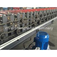 Quality 3.5kW Corrugated Roll Forming Machine 0.3-0.8mm Material Thickness wholesale