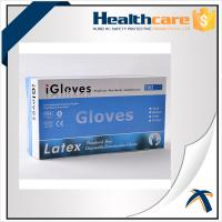 China Safety Colorful Disposable Nitrile Gloves For Examination Powder Free / Powdered Surface on sale