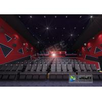 Quality 55 Inch Display 60 People 4D Digital Cinema Equipment With Blue Color 4 Motion Seat wholesale