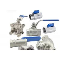 Cheap Threaded Female One Piece Stainless Steel Valves For Hydraulic Engineering for sale