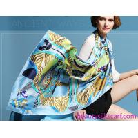 Double sides satin silk shawls&wraps,gifts,Top high quality Silk fabric scarves by factory