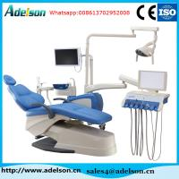 Buy cheap Up grade leather cushion six holders tool tray dental unit chair price on sale from wholesalers