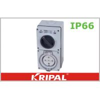 Quality Industrial IP66 Waterproof Switch Socket 10A 15A 16A 20A 30A 32A 40A 50A wholesale