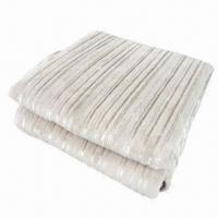 China Heated throw with soft microfiber, measures 50x60cm on sale