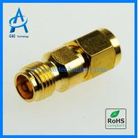 Cheap 2.4mm female to male adapter 50GHz VSWR 1.30max gold plated for sale