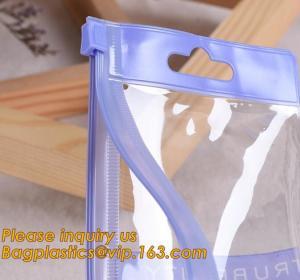 China custom print clear pvc plastic waterproof document bag,Shining stars Transparent PVC File Folder Document Filing Bag Cos on sale