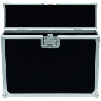 China Black 9mm Plywood / Rack Flight Case With Wheels / Storage Cases for Light on sale