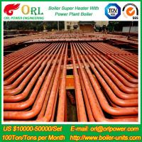 Quality ORL Power 50 MW CFB Boiler Superheater For Petroleum Steam Oil Industry Plant wholesale