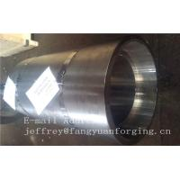 Quality 16Mo3 Steel Forged Ring Forged Cylinder Flange Heat Treatment And Machined wholesale