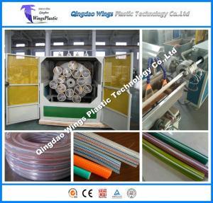 China PVC Garden Hose Production Line, Plastic PVC Garden Hose Machine, PVC Hose Line on sale
