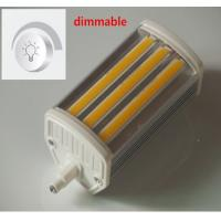 Quality 15W Dimmable COB R7S light J118mm LED R7S lamp 1500lm high lumen R7S floodlight replace the halogen lamp 150W AC220-240V wholesale