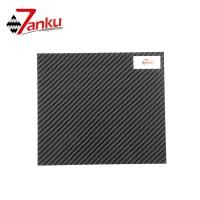 Quality Standard stock products,500*600mm 2mm Thickness 3K 100% Carbon Fiber Plate wholesale