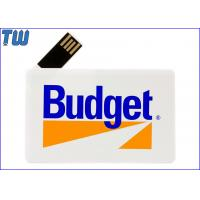 Buy cheap 180 Degree Twisting Spin Credit Card Style USB Flash Memory Full Protection product