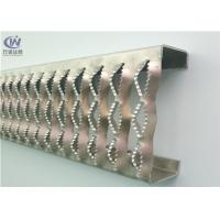 Quality Customized Stainless Steel Crocodile Mouth Steel Plank Grating Checkered Plate For Bridge wholesale