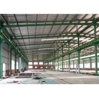 Quality Q345 Welding Galvanized Light Gauge Steel Framing Durable With Gable Frame wholesale