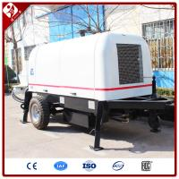 Buy cheap Good after-sales warrenty trailer concrete pump with remote control from wholesalers