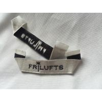 China Pre Printed Clothing Custom Woven Labels , Self Adhesive Children'S Clothing Labels on sale