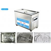 Quality Digital Control Tabletop Ultrasonic Cleaner , Surgical Ultrasonic Cleaner With Heater wholesale