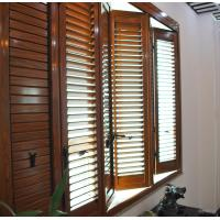 Quality Residential Bi Fold Aluminium Windows  / Collapsible Windows With Louver wholesale