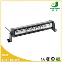 Quality 16 inch single row LED light bar 80W offroad led driving light bar wholesale