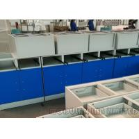 Quality Modular School Laboratory Furniture , Stainless Steel Painted Steel MDF Bench Fume Hood wholesale
