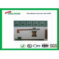 Quality Rigid-Flex Quick Turn PCB Prototypes Base on IPC-2223 Guidelines Yellow and Green wholesale