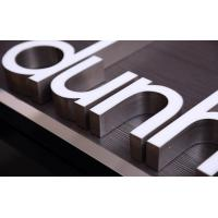Quality Stainless Steeel Edge LED Channel Letters Outside Decoration No Color Fading wholesale