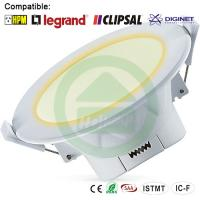 Quality 3000K Warn Wihte Dimmable LED Downlights 10W Corrosion Resistance wholesale