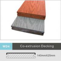 China Foam Composite WPC Decking Flooring 140mm x 25mm Uv Resistance Flooring Boards on sale