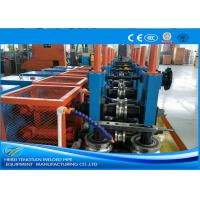 China Cold Rolled Coil SS Tube Mill Machine , Square Tube MillFriction Saw Cutting on sale