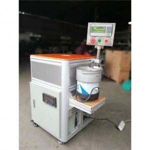 China B22 Bulb Cap Punching Crimping Nailing Testing Machine For LED Production on sale